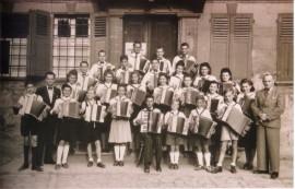 Grupenbild 09.10.1949